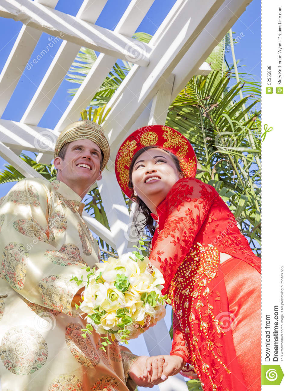 a vietnam's wedding ceremony
