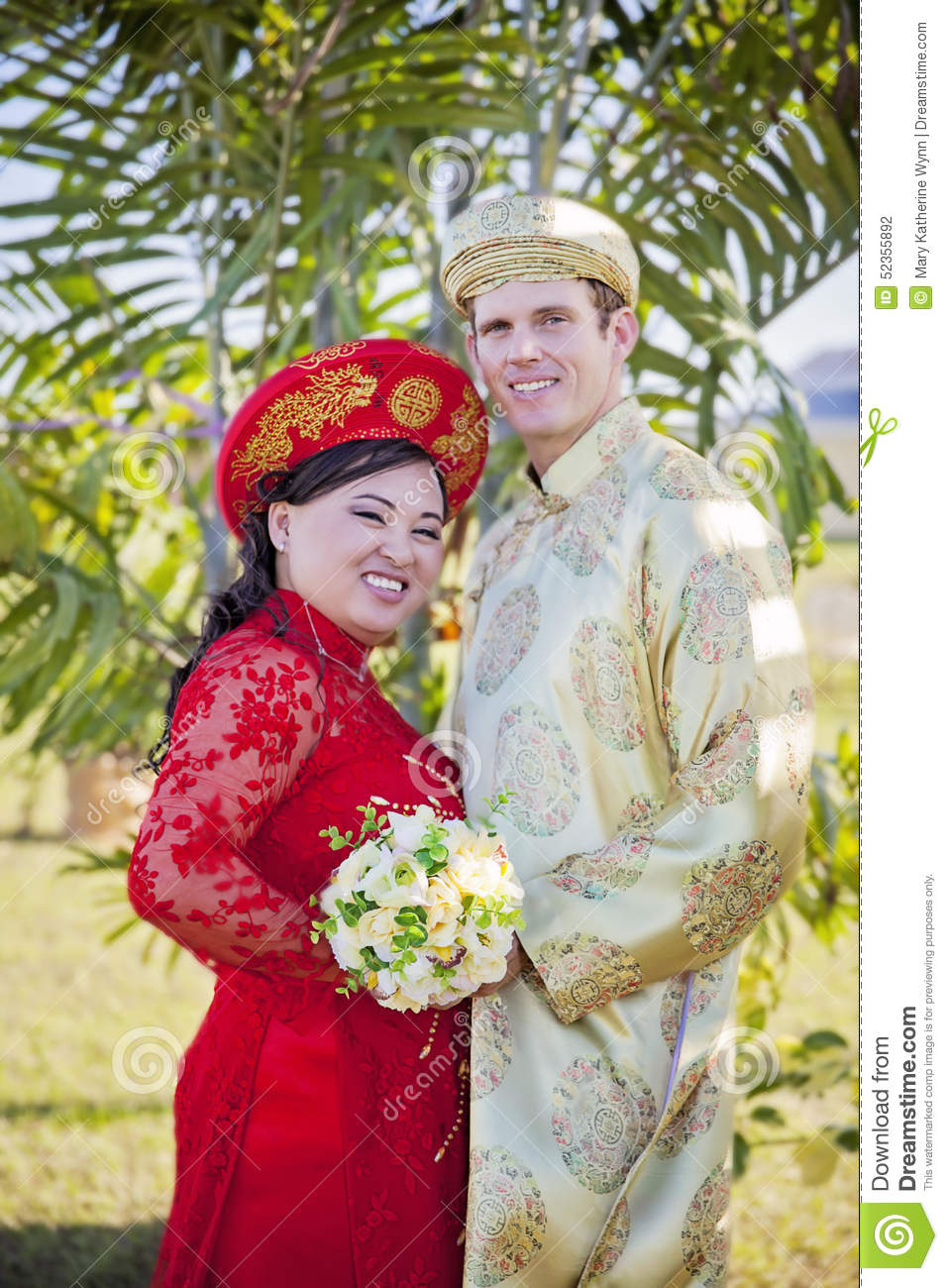 Vietnamese wedding dress images