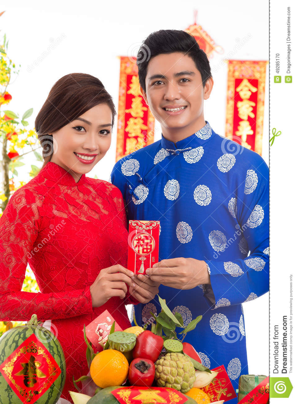 Vietnamese couple with greeting card stock photo image of greeting download vietnamese couple with greeting card stock photo image of greeting holding 49285170 m4hsunfo