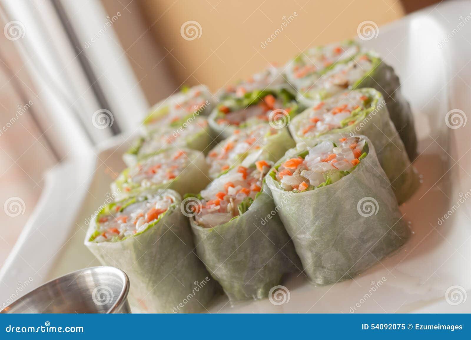 Vietnamese de lentebroodjes