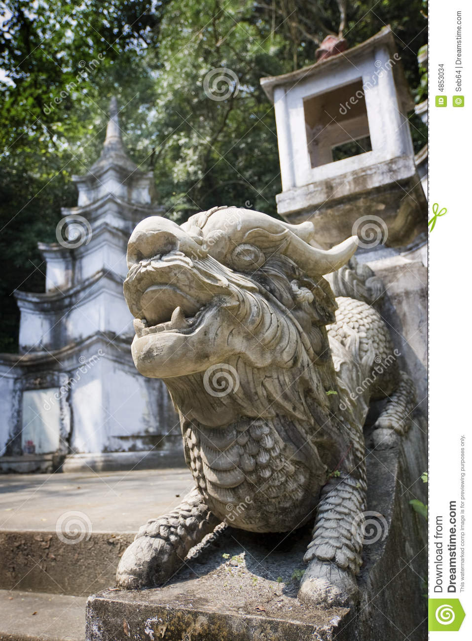 Vietnamese Dragon: Vietnamese Dragon Stock Images