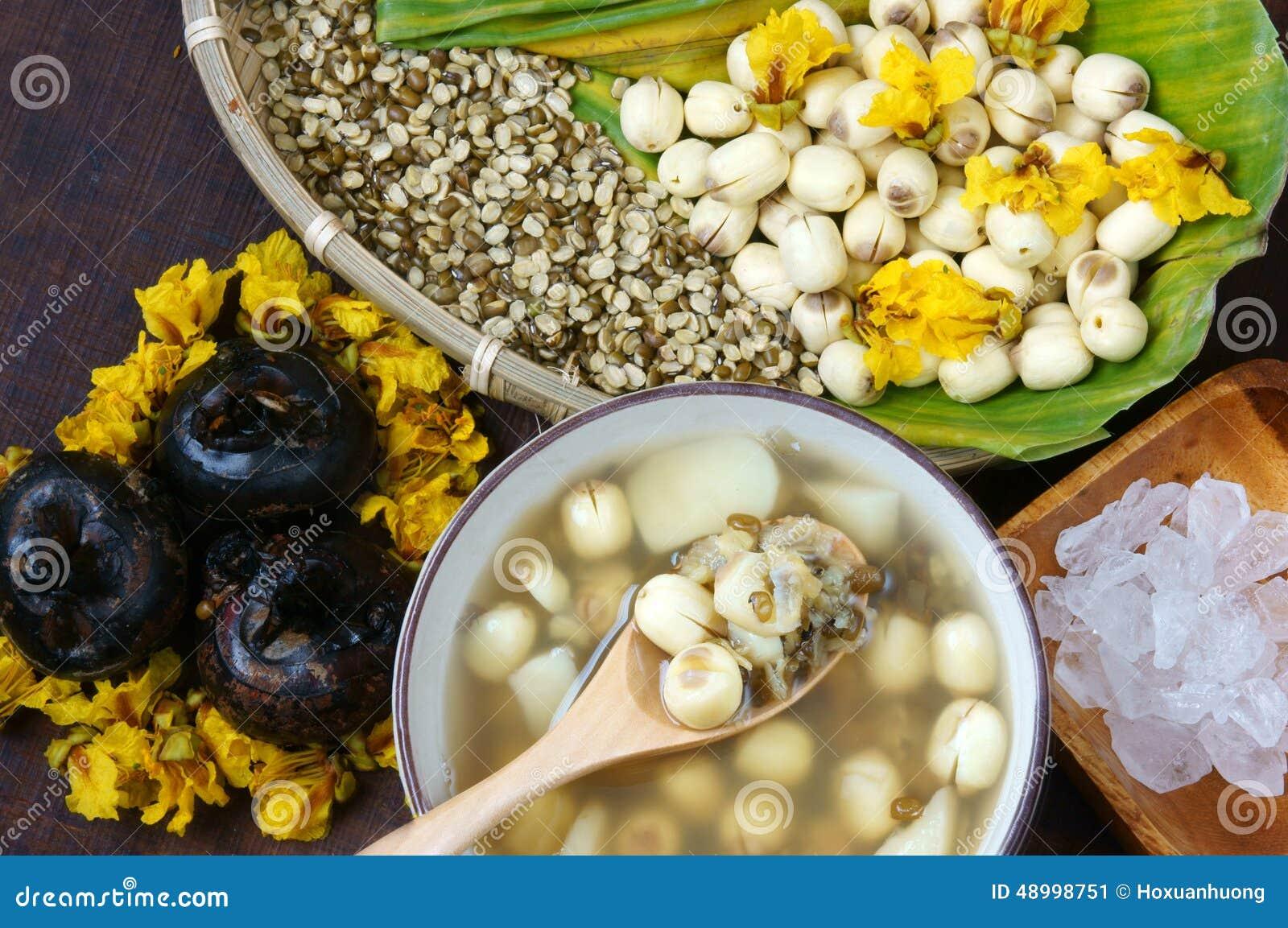 how to make vietnamese 3 color bean dessert