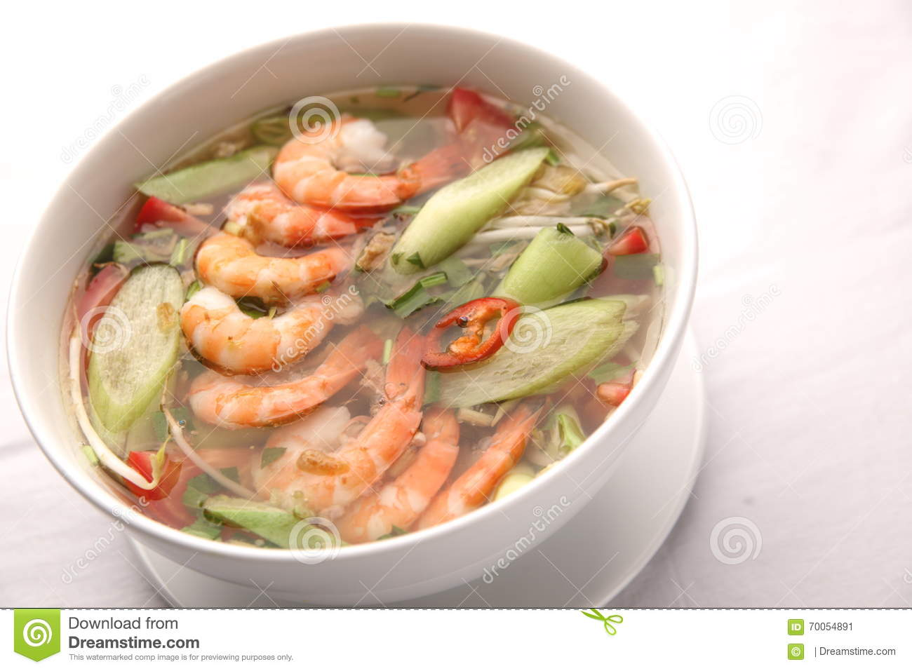 Canh Chua Name Popular Shrimp Soup Sour Sweet