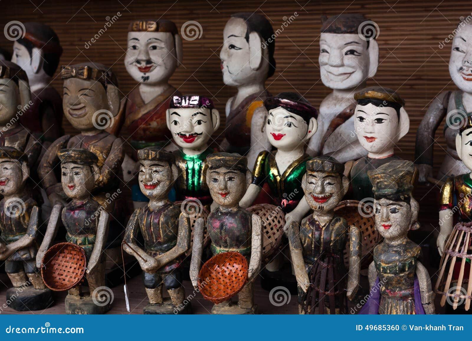 Vietnamese wter puppets