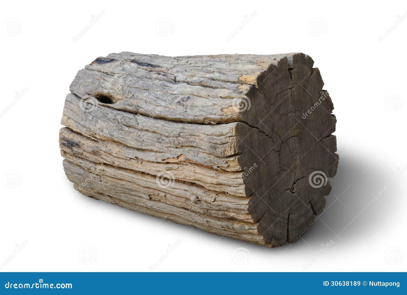 Vieux bois de rondin