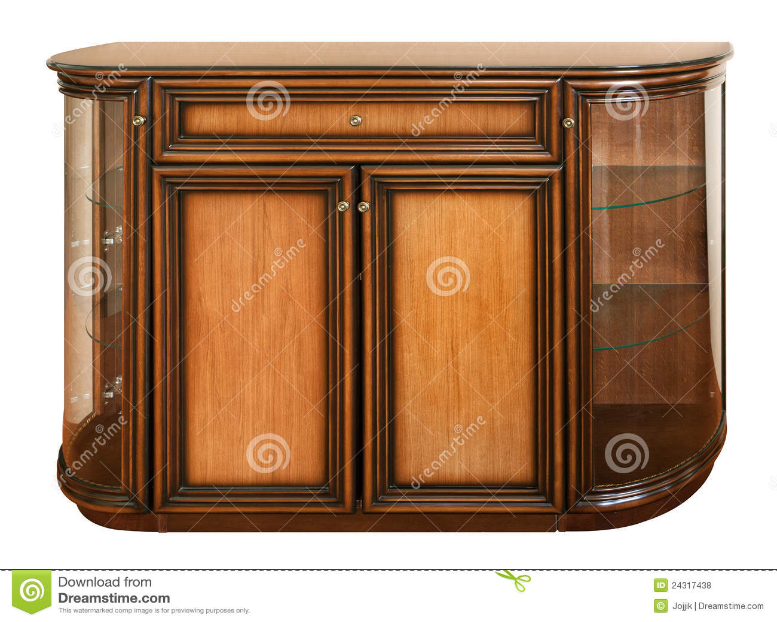 Vieux bureau en bois de montant illustration stock illustration