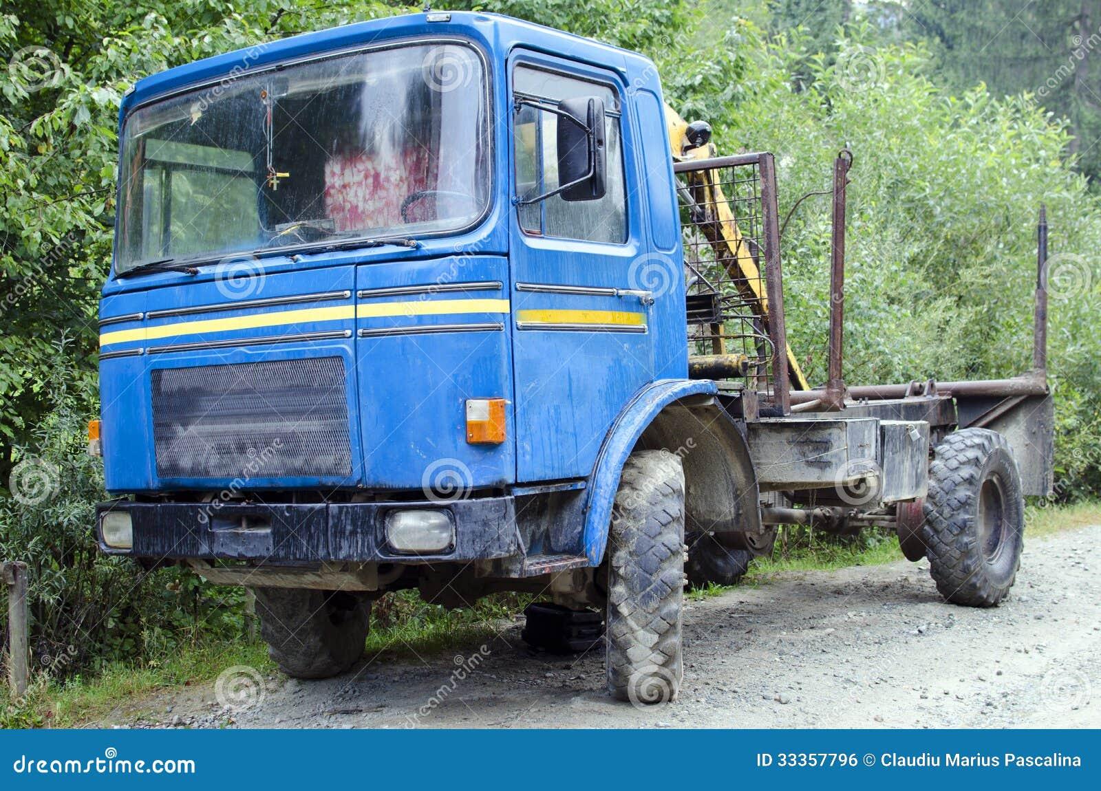 vieux camion roumain romain