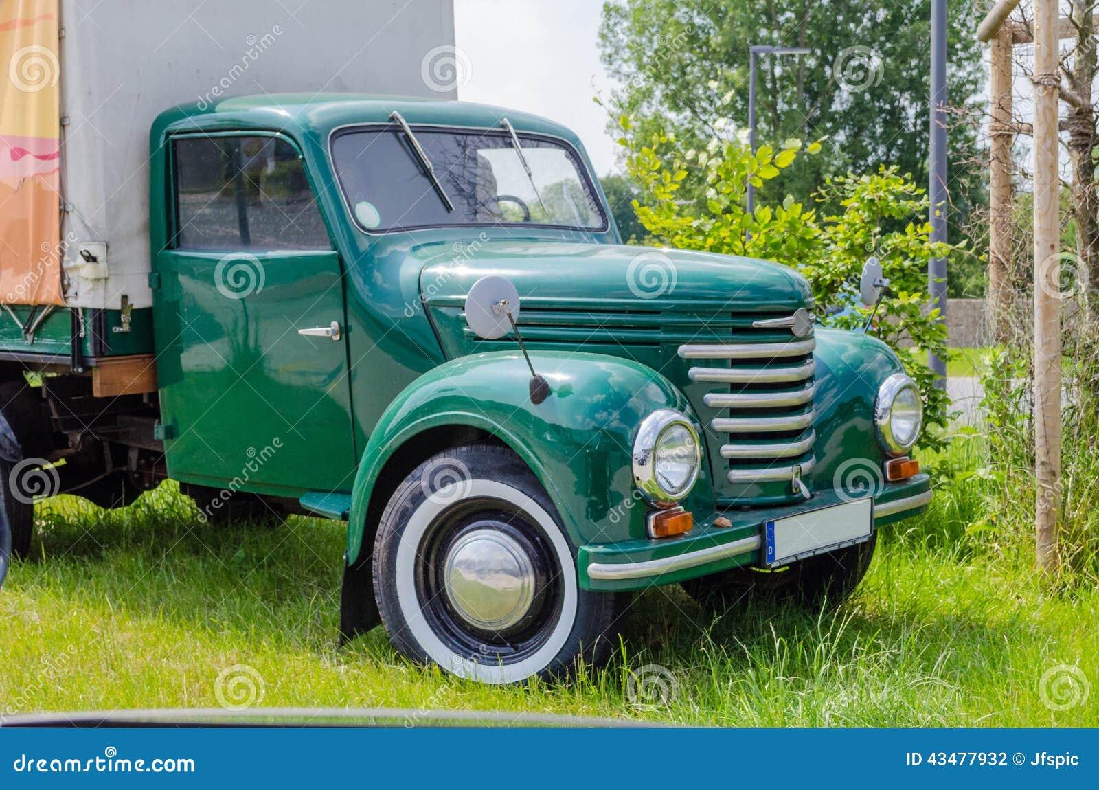 vieux camion vintage photographie ditorial
