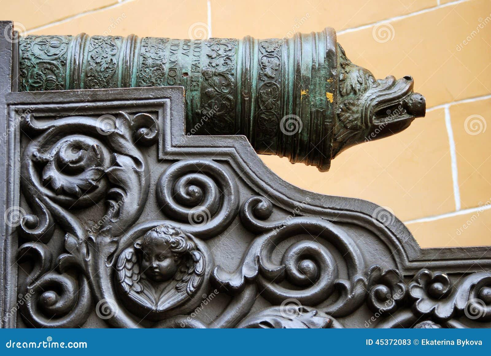 Vieux canon à Moscou Kremlin Site d héritage de l UNESCO