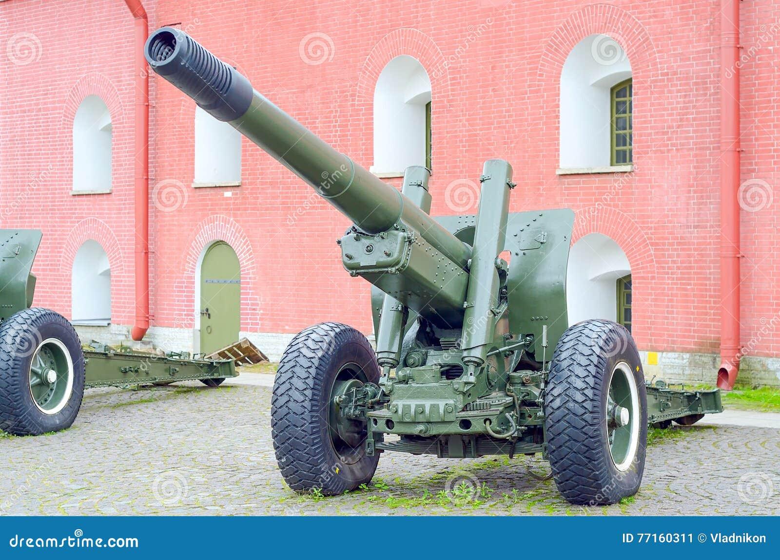 Vieux canon d artillerie d armée