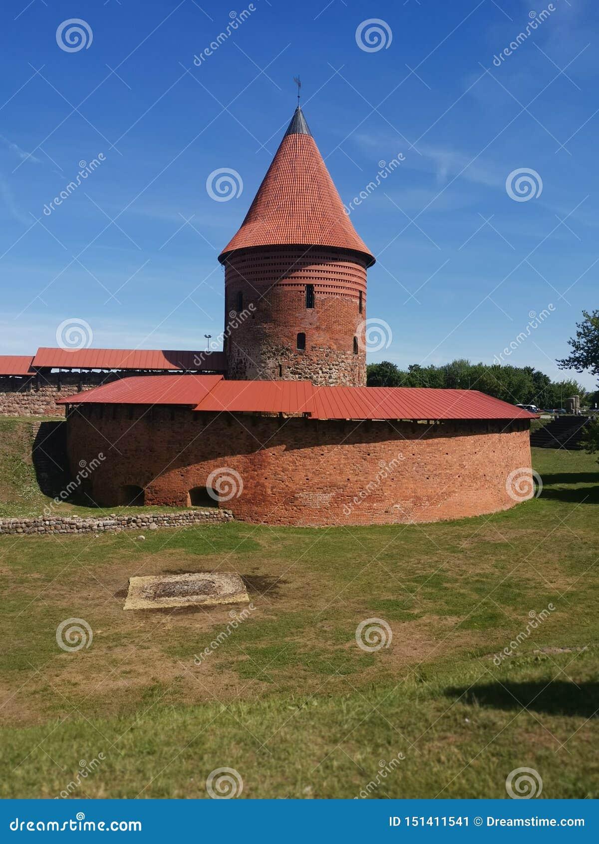 Vieux casle à Kaunas Lithuanie