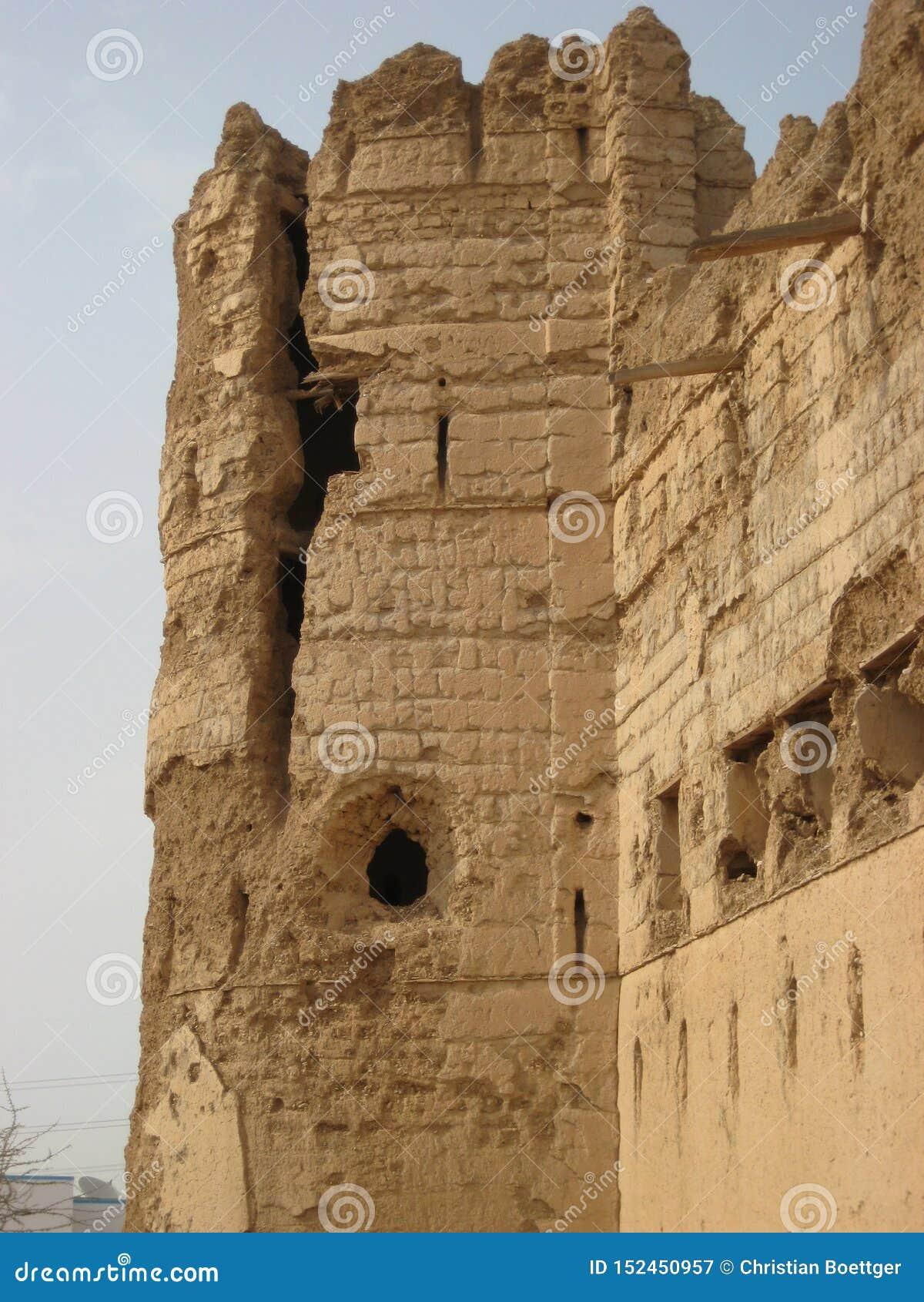 Vieux château au Sultanat d Oman