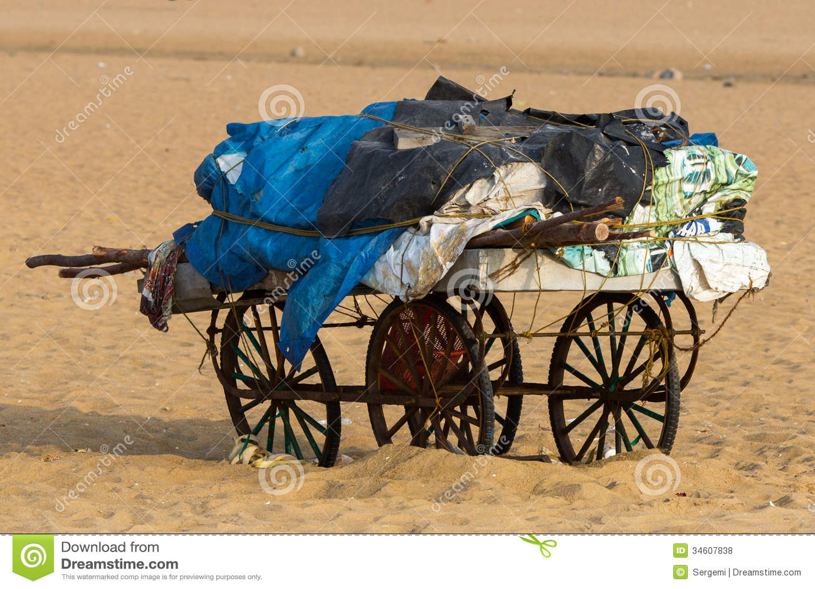 Vieux chariot