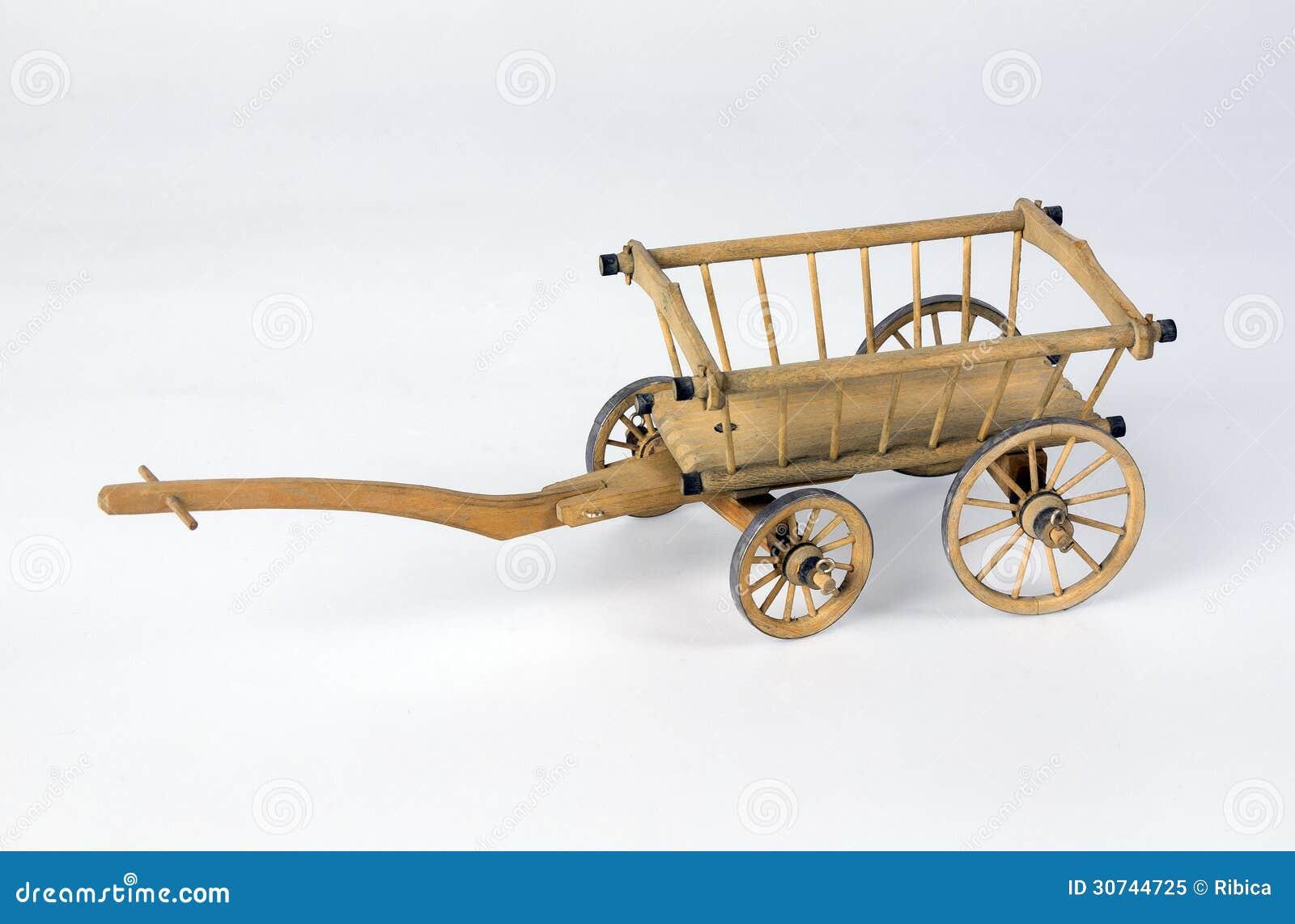 vieux chariot en bois photo libre de droits image 30744725. Black Bedroom Furniture Sets. Home Design Ideas