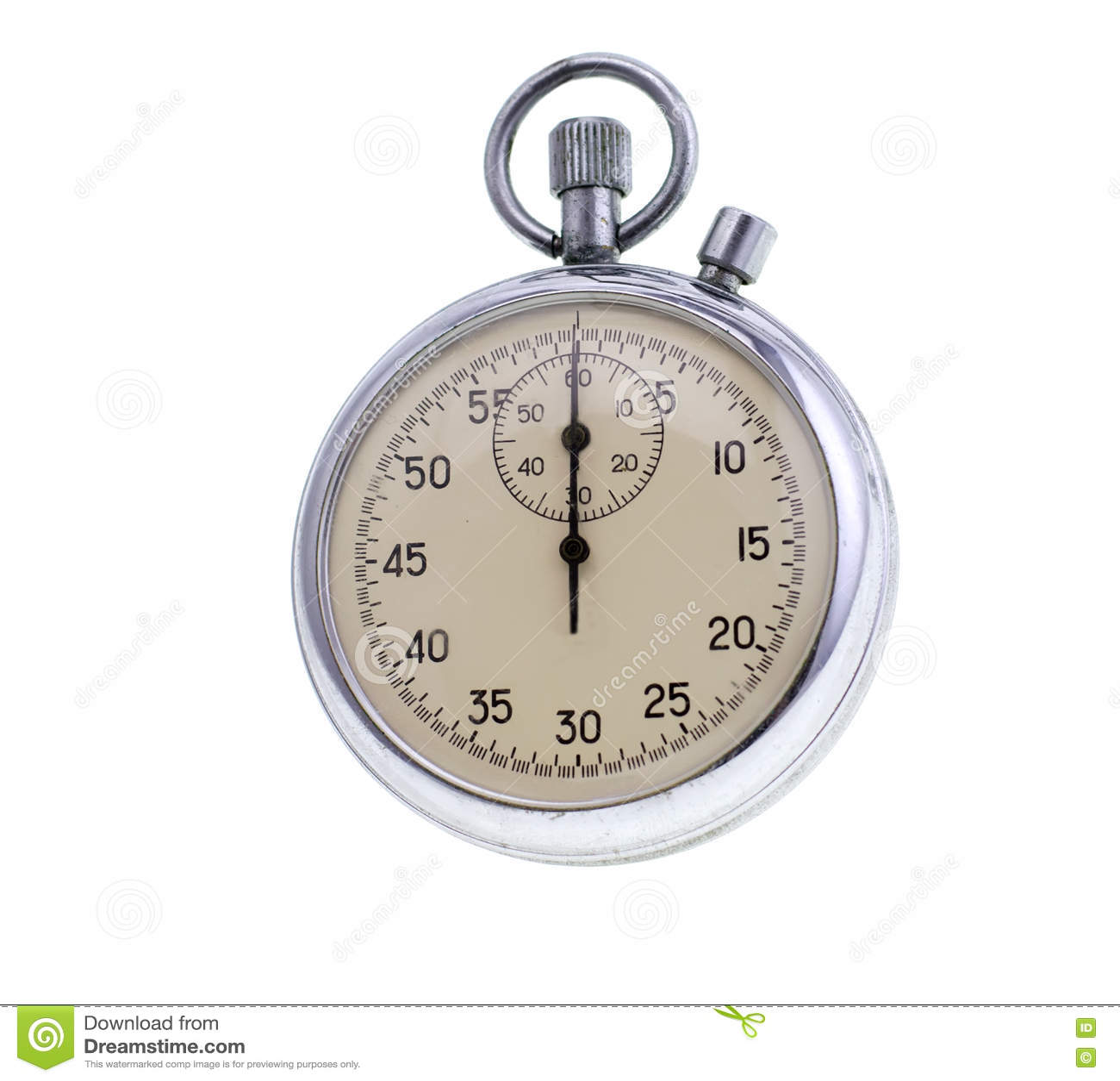 Vieux chronomètre d isolement