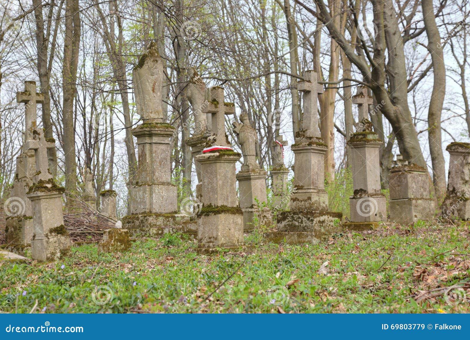 Un cimetière du XIXème siècle découvert dans un bois Vieux-cimeti%C3%A8re-abandonn%C3%A9-dans-la-for%C3%AAt-69803779
