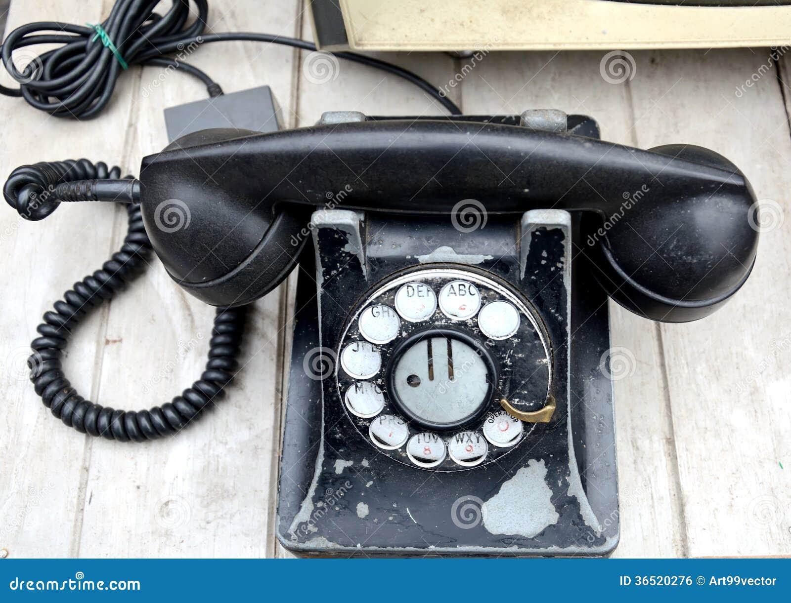 Vieux classique de téléphone
