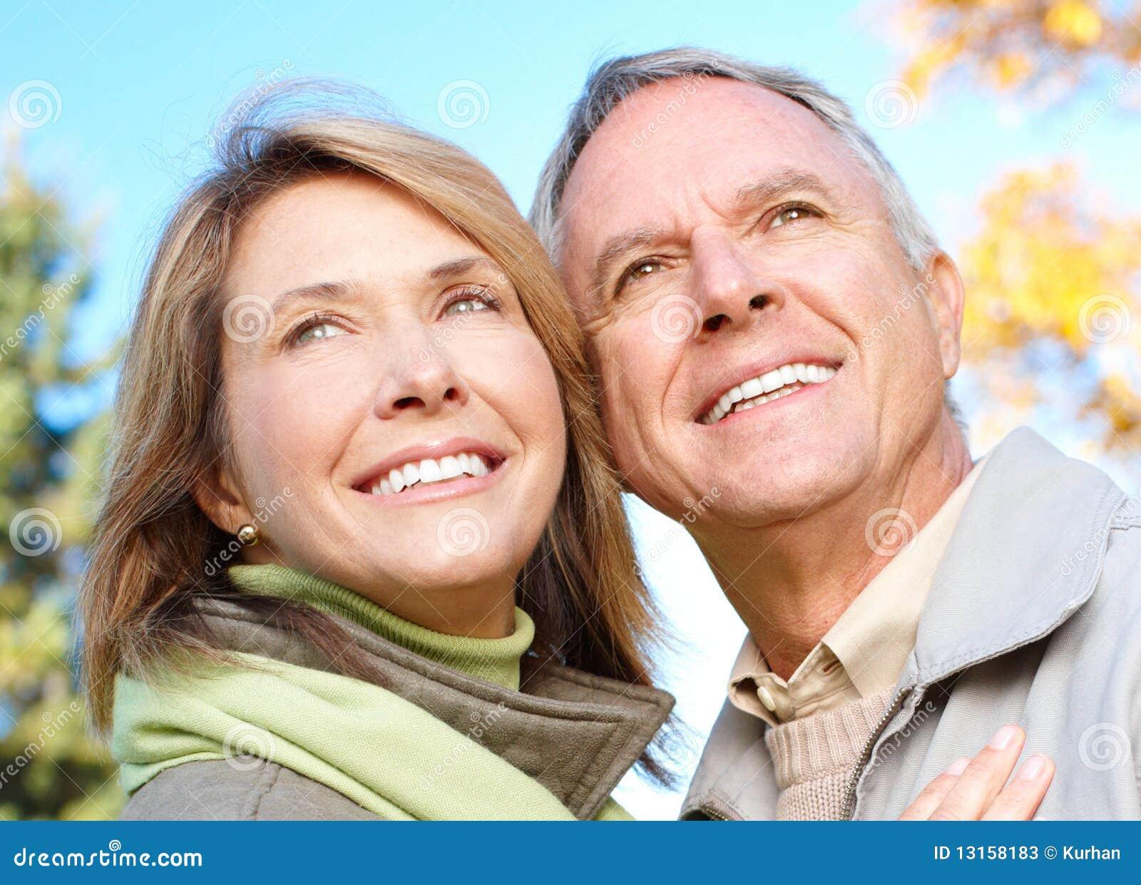 Vieux couples d aînés