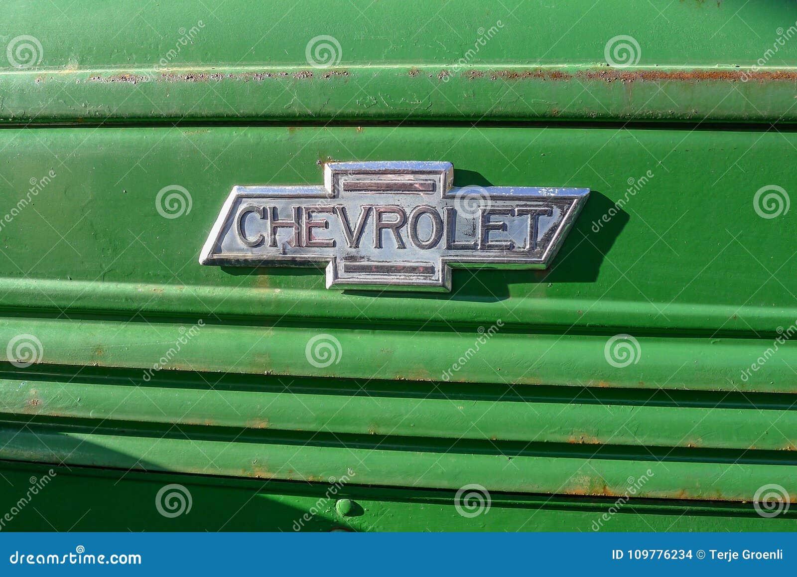 Vieux décalque de voiture de Cheverolet de vintage