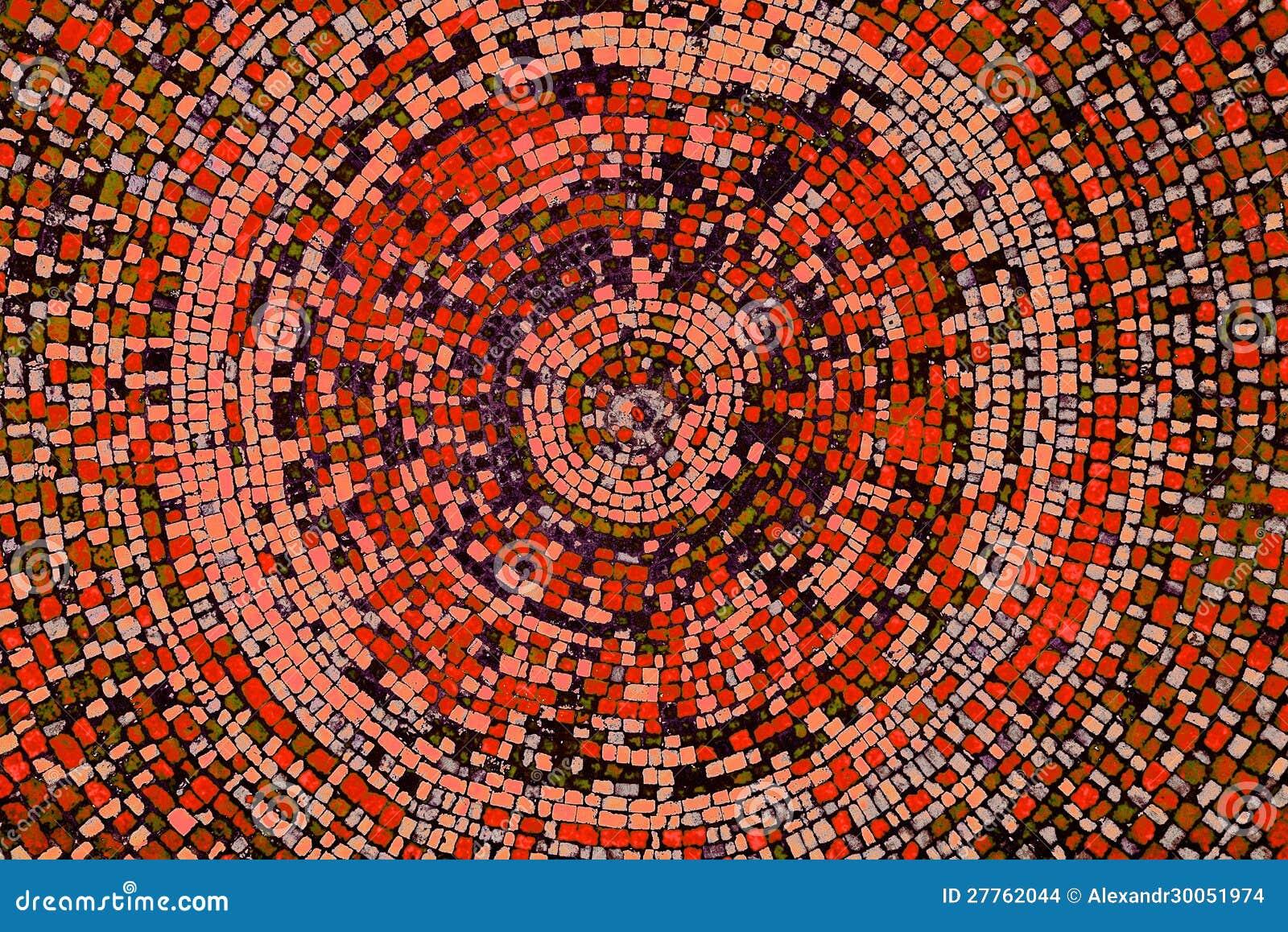 Vieux dôme de mosaïque