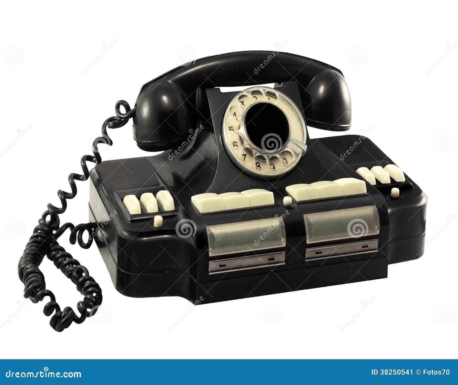 Vieux directeur rotatoire de téléphone