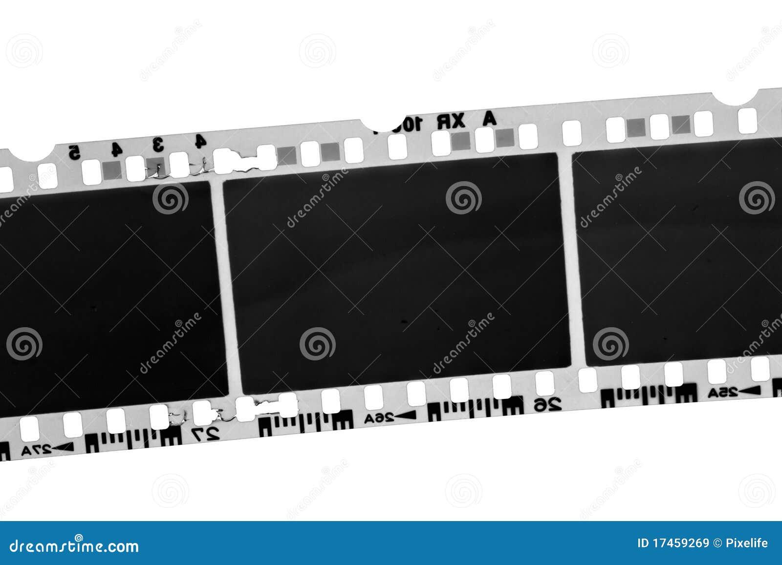 Vieux film photographique noir et blanc