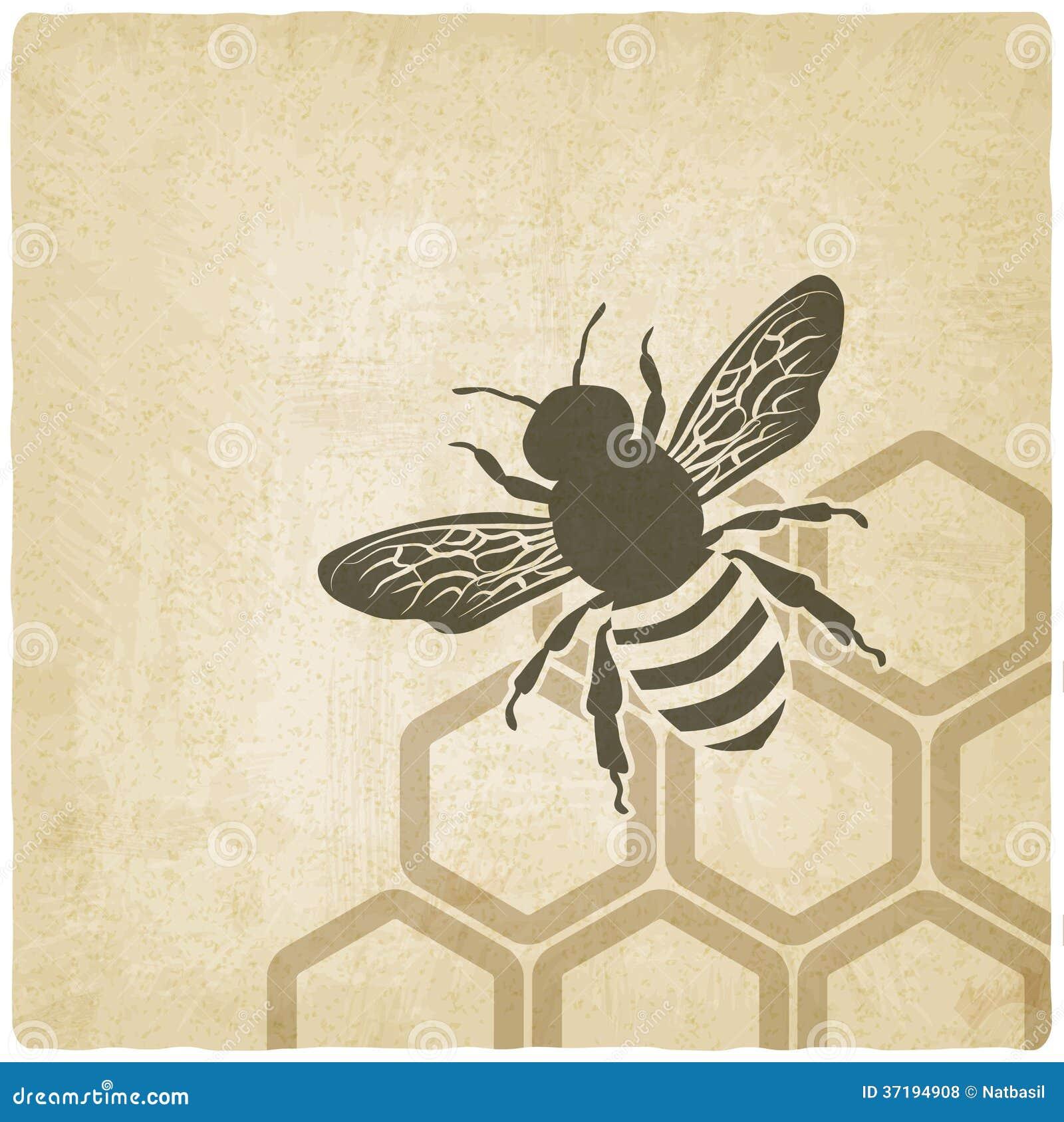 Vieux fond d abeille