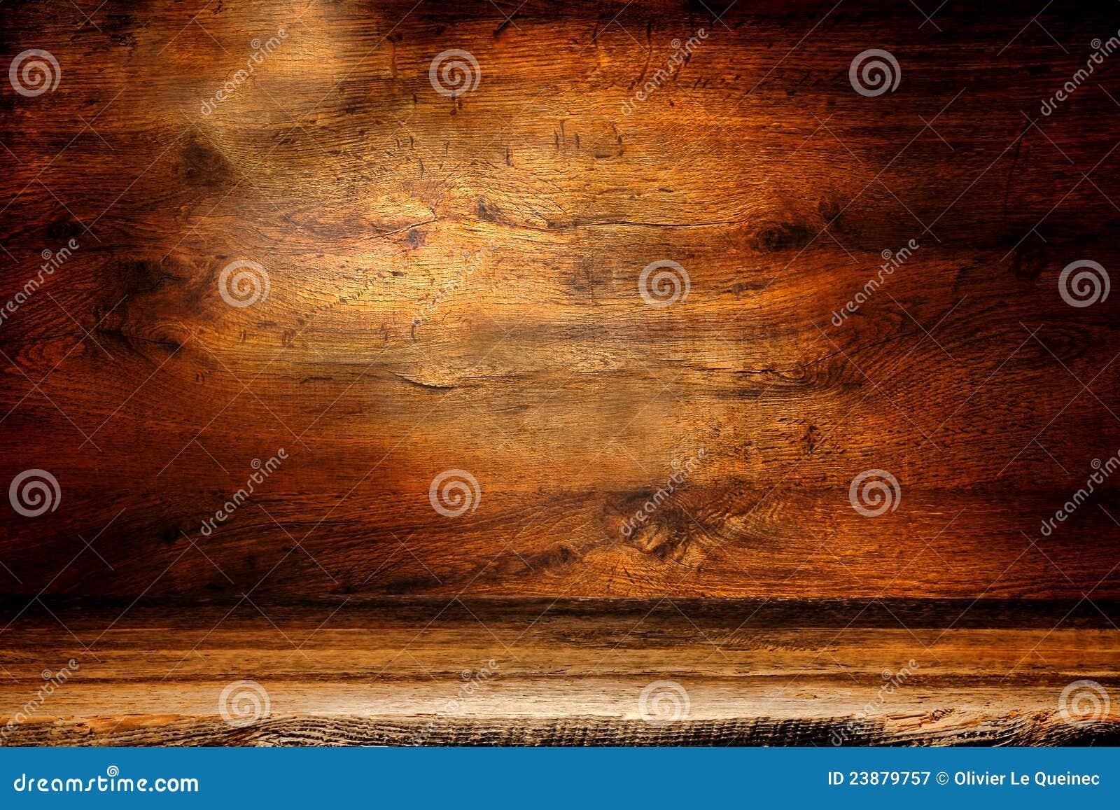 Vieux fond en bois de grunge de panneau de planche et d antiquité