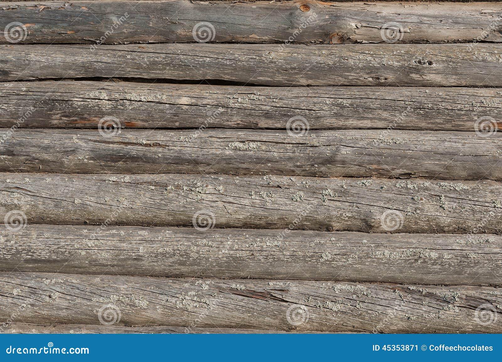 Vieux fond en bois de mur de maison