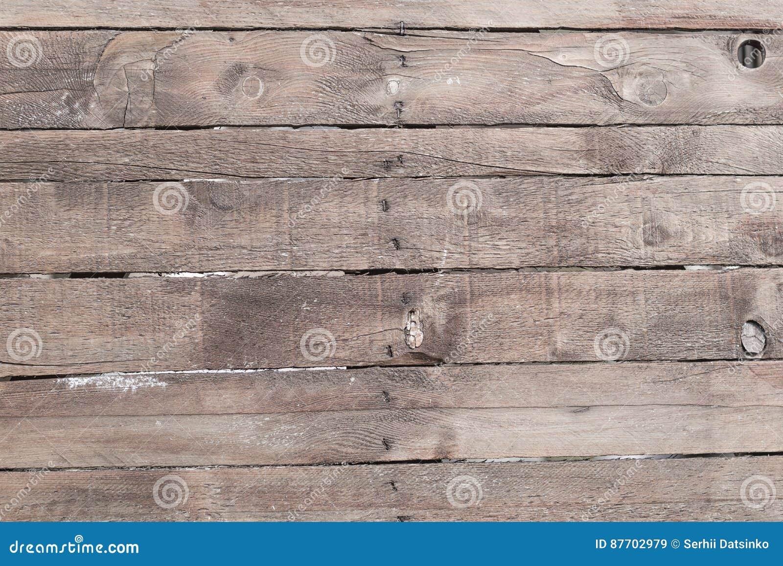 Vieux fond en bois superficiel par les agents de mur de planche Texture détaillée