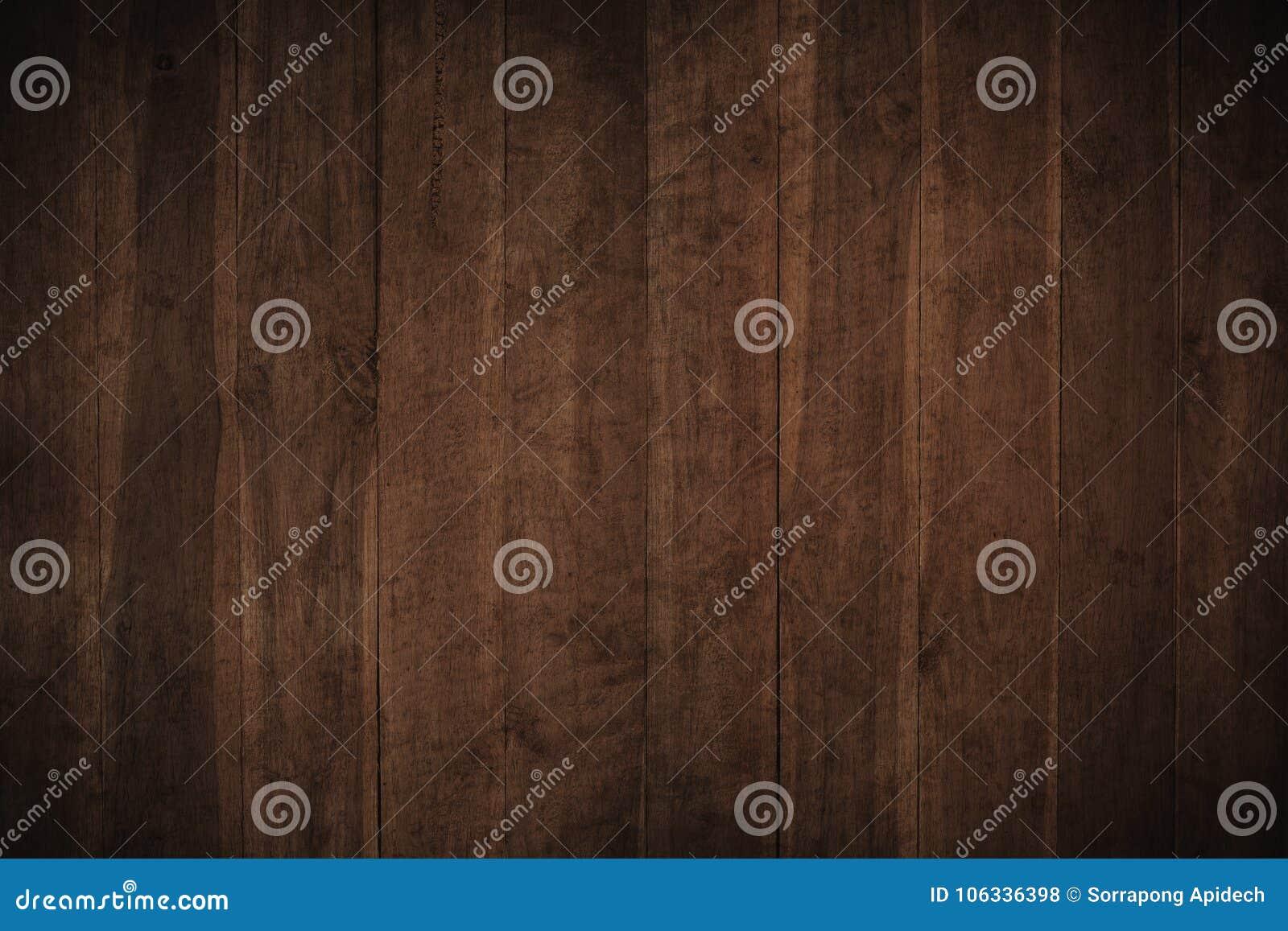 Vieux fond en bois texturisé foncé grunge, la surface de l ol