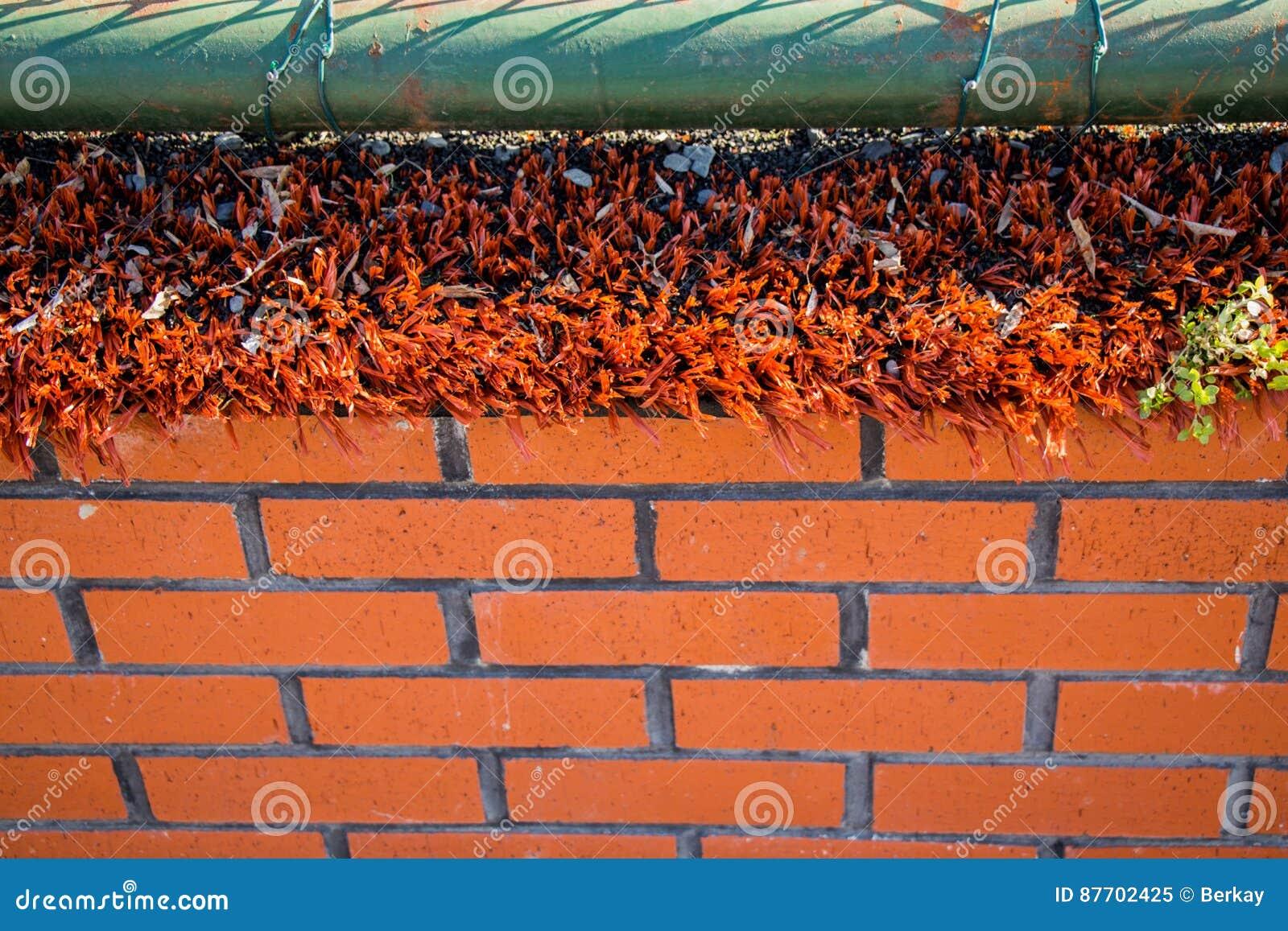 Vieux fond grunge de mur de briques