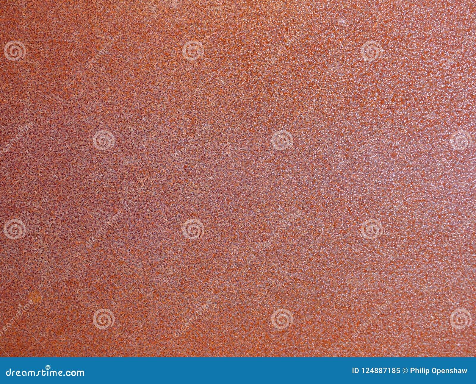 Vieux fond industriel rouillé brun et orange de tôle d acier