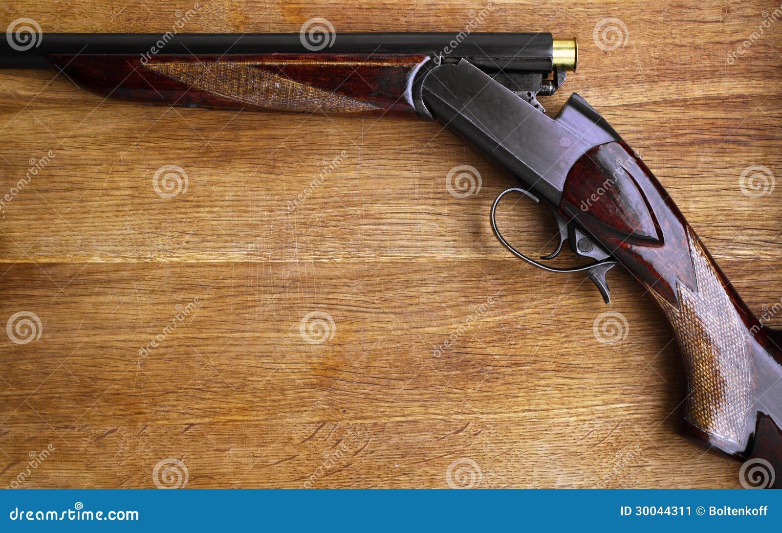 Vieux fusil de chasse image stock image du dur e poudre 30044311 - Couleur canon de fusil ...