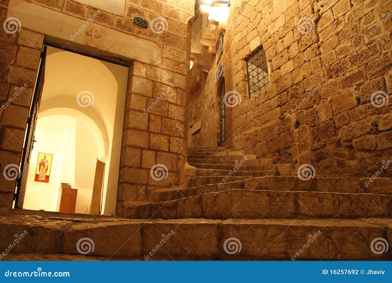 Vieux Jaffa la nuit