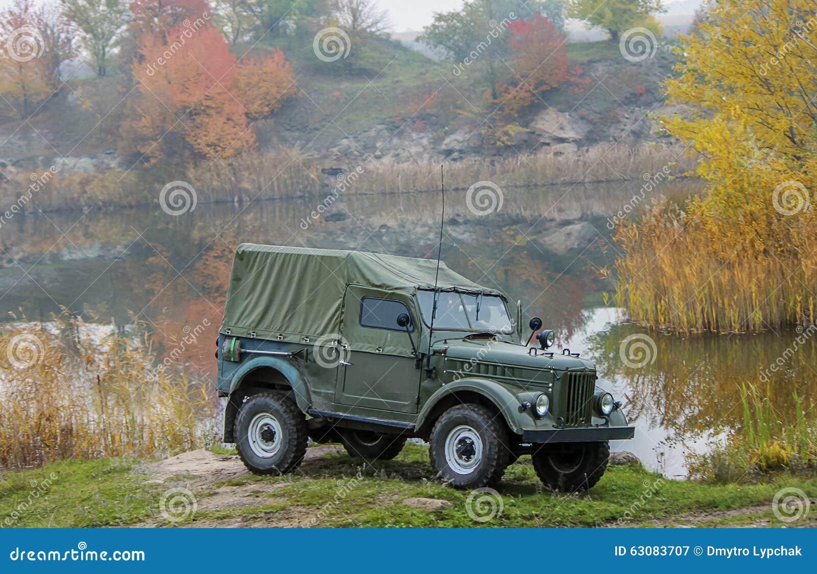 Download Vieux Jeep De L'armée Américaine Image stock - Image du combat, transporteur: 63083707