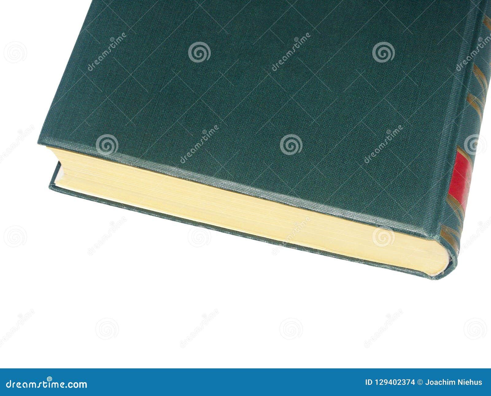 Vieux Livre Relie Vert Avec L Outillage Rouge Photo Stock
