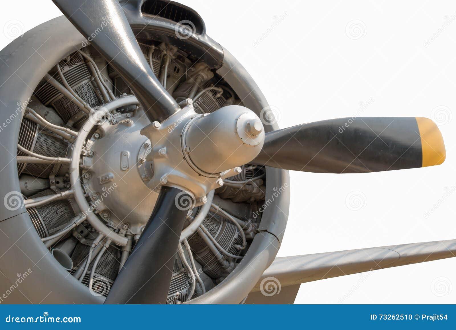 Vieux moteur à piston