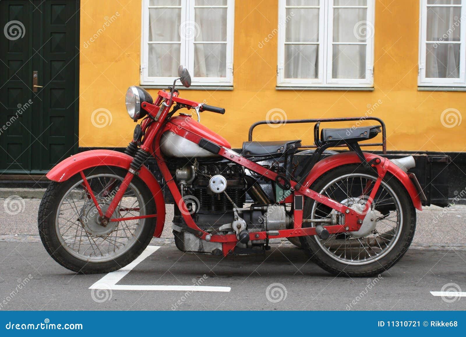 Vieux motoecycle