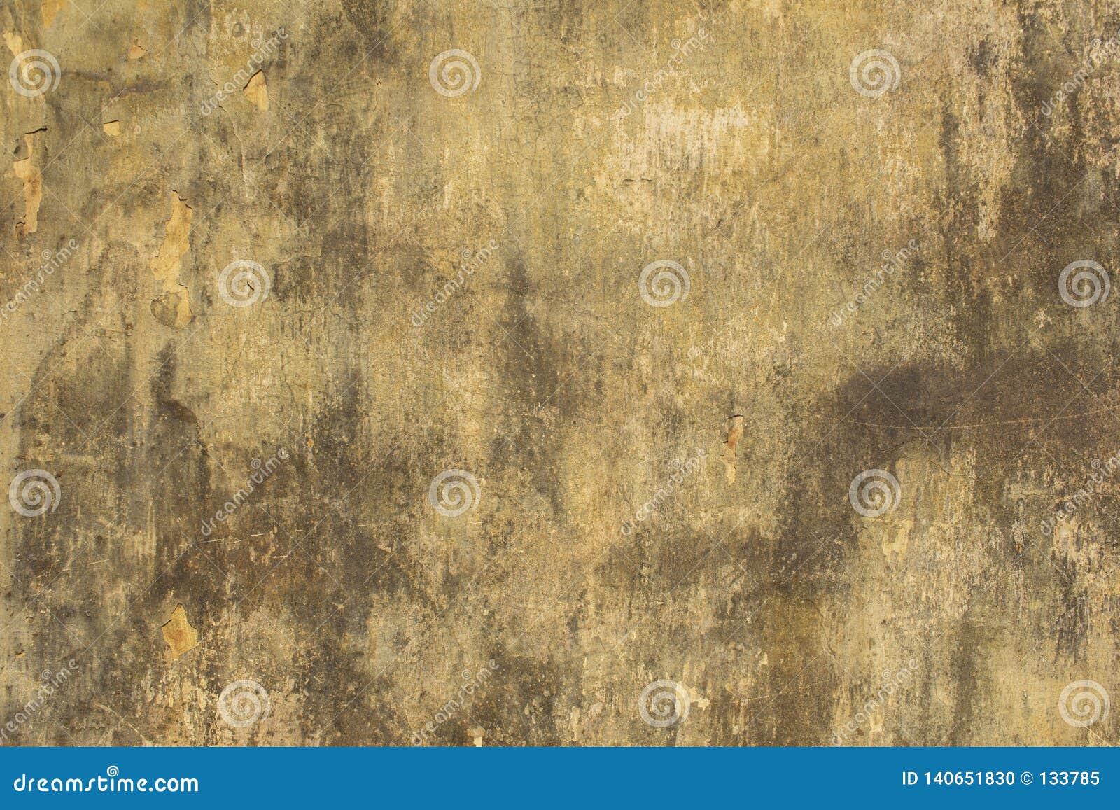 Vieux Mur Blanc Gris Jaune Avec Des éraflures Taches De