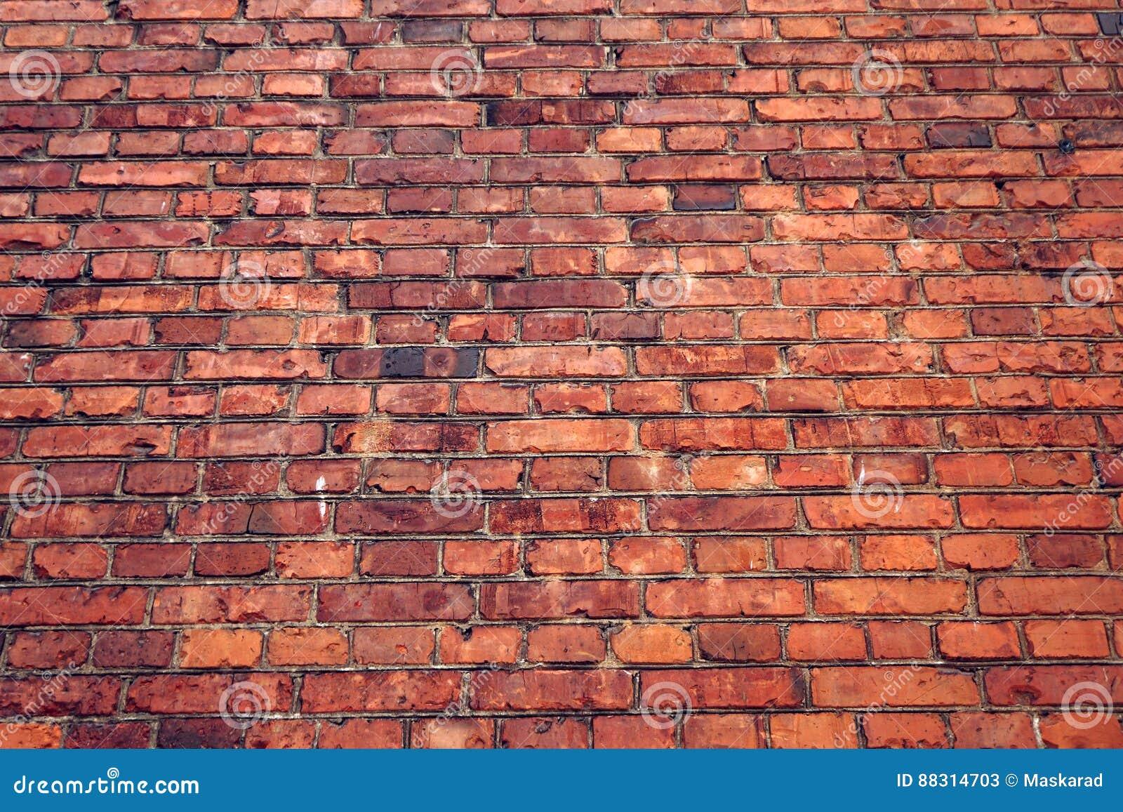 vieux mur de brique rouge texture grunge image stock image 88314703. Black Bedroom Furniture Sets. Home Design Ideas