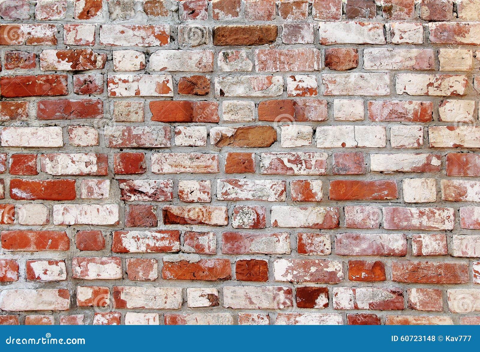 vieux mur de briques avec les briques blanches et rouges photo stock image du bloc antiquit. Black Bedroom Furniture Sets. Home Design Ideas
