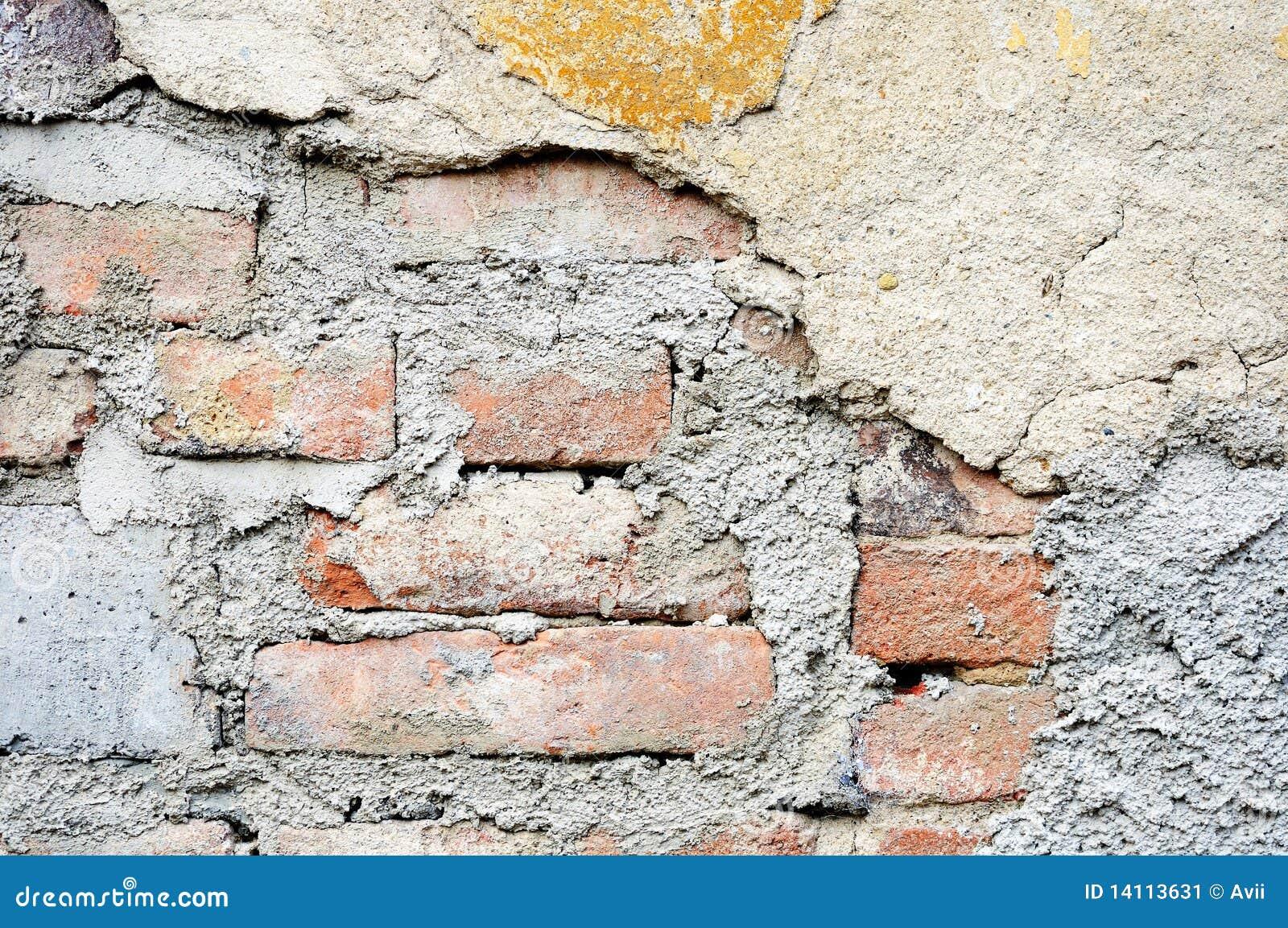 vieux mur de briques pl tr image stock image 14113631. Black Bedroom Furniture Sets. Home Design Ideas