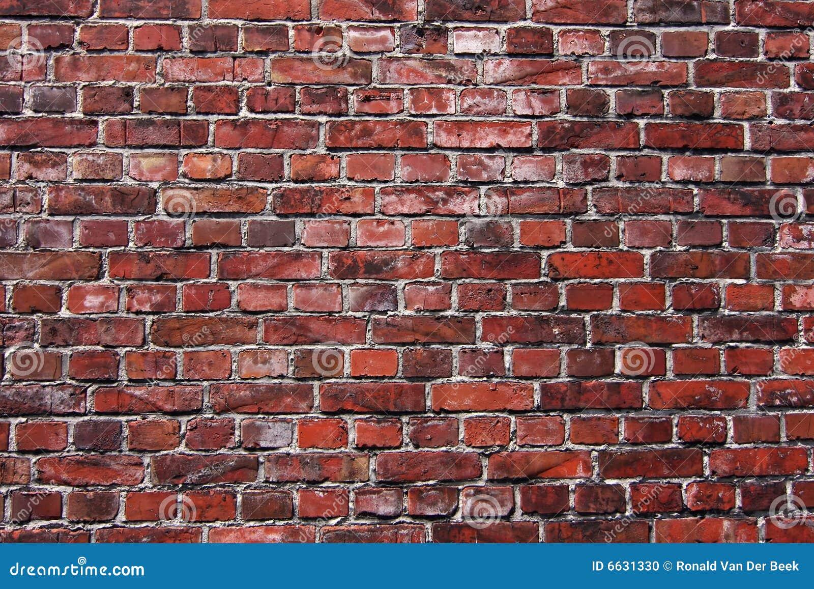 vieux mur de briques rouge photo stock image 6631330. Black Bedroom Furniture Sets. Home Design Ideas