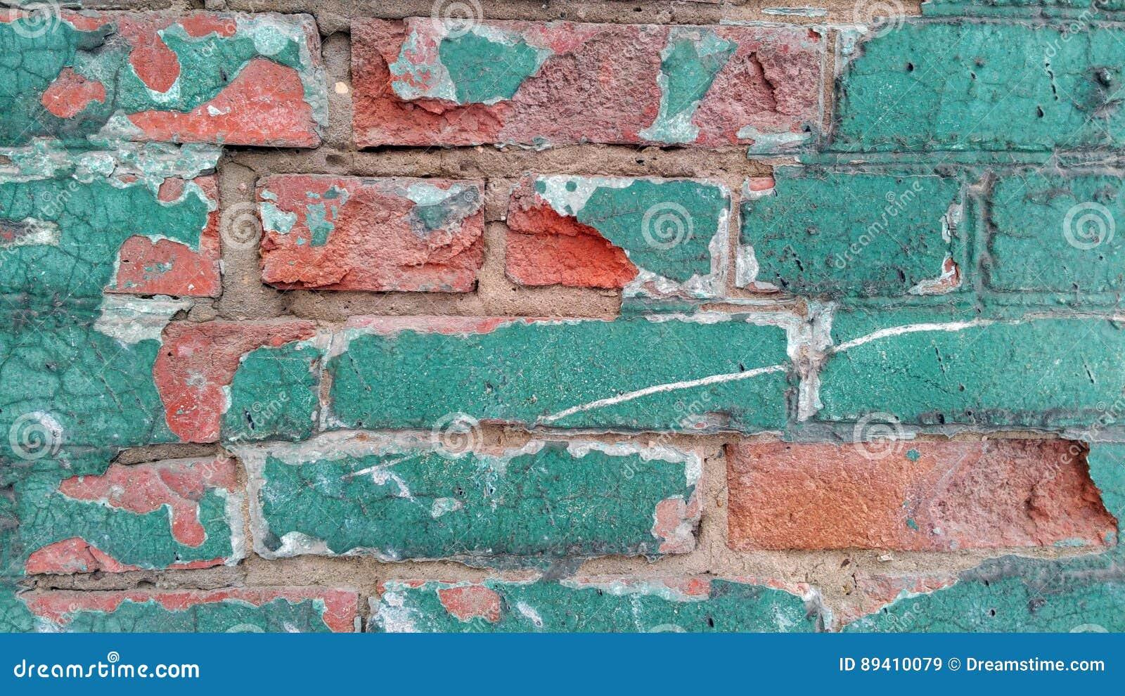 Vieux mur de colorfull