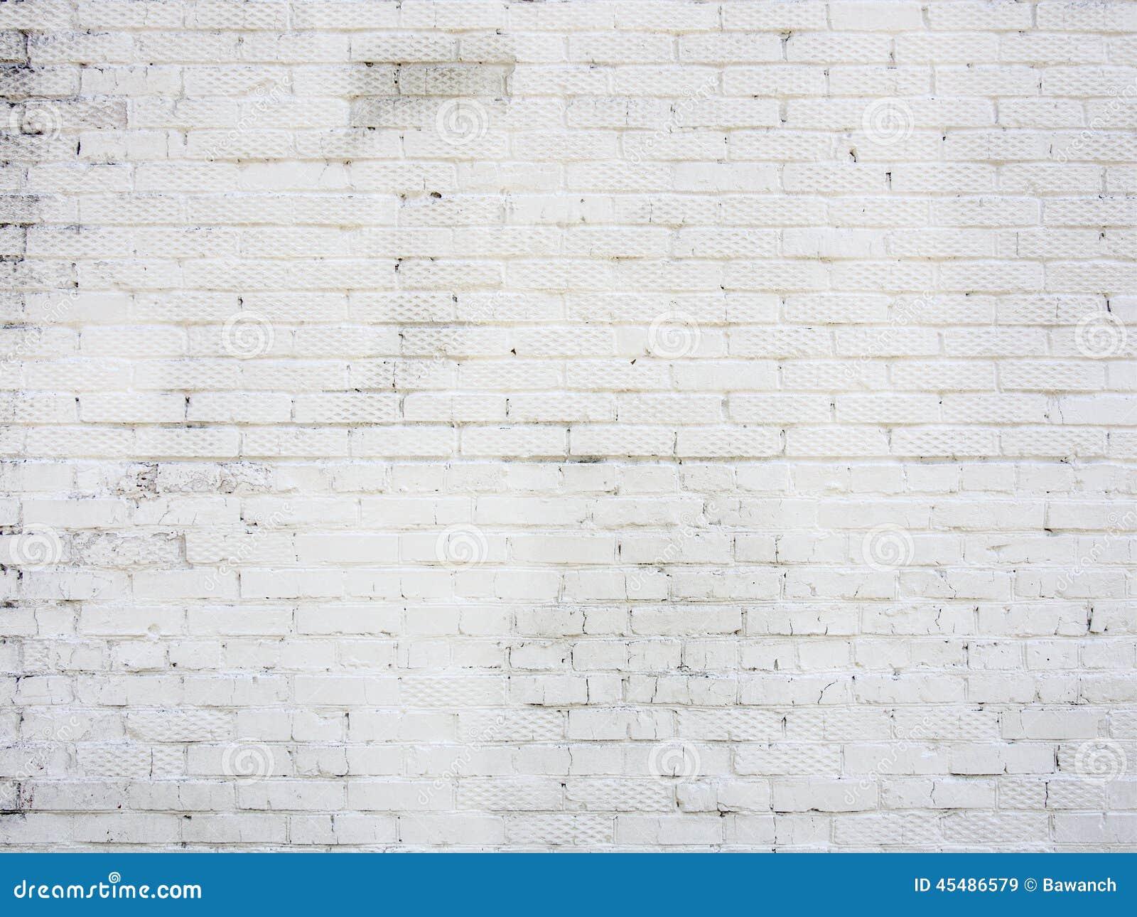 vieux mur de la brique blanche image stock image du ville fa ade 45486579. Black Bedroom Furniture Sets. Home Design Ideas