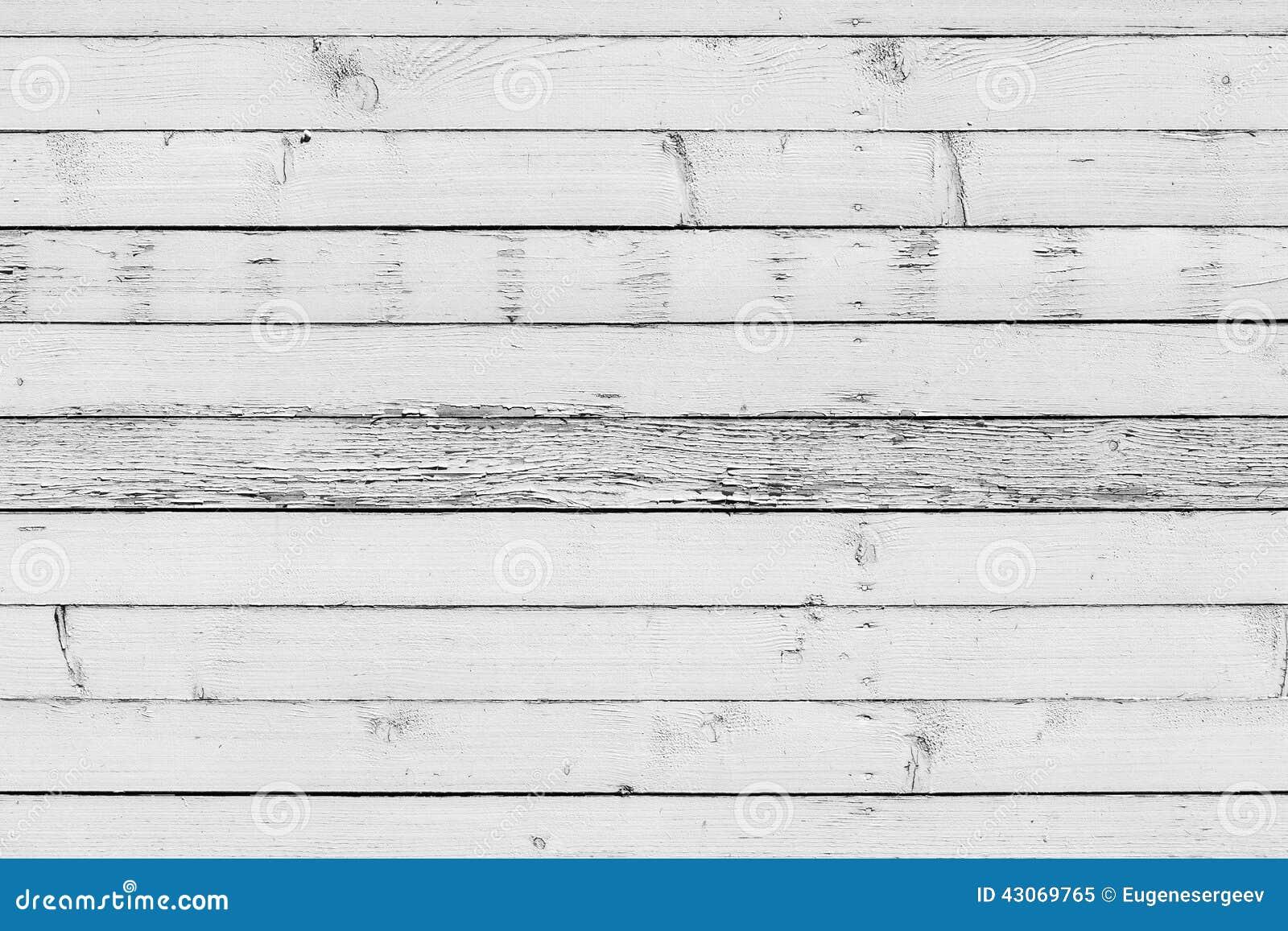 vieux mur en bois blanc texture de fond image stock image 43069765. Black Bedroom Furniture Sets. Home Design Ideas