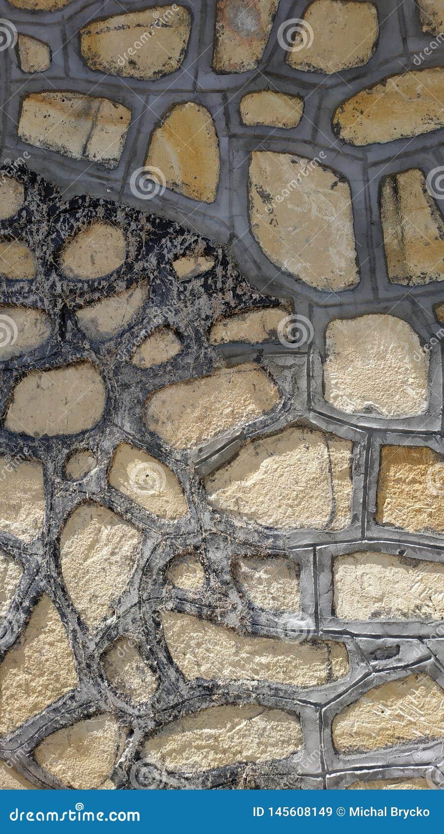 Vieux mur en pierre en Turquie