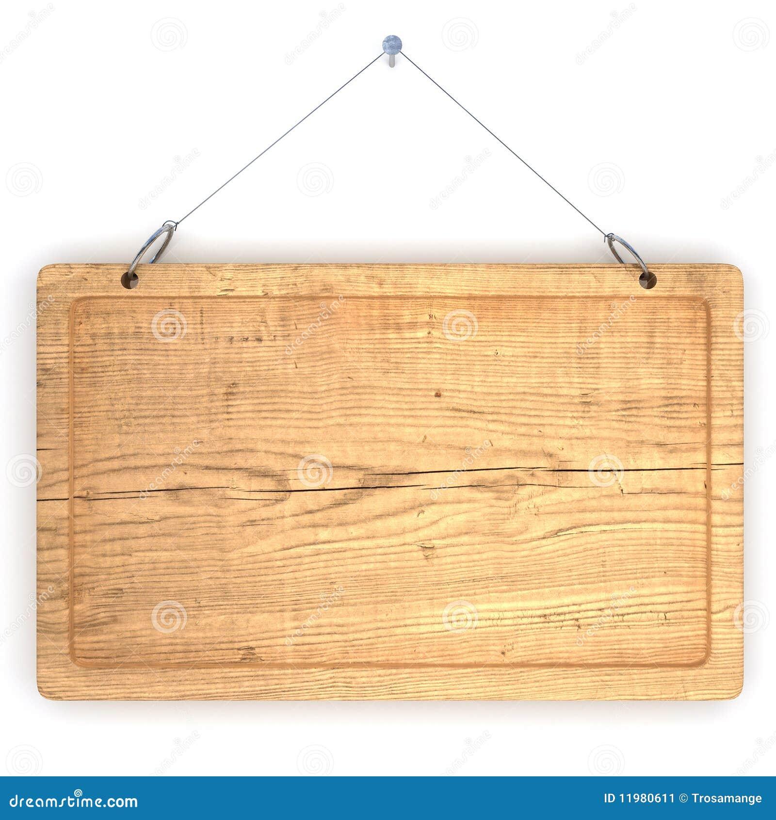 vieux panneau d 39 affichage en bois illustration stock. Black Bedroom Furniture Sets. Home Design Ideas