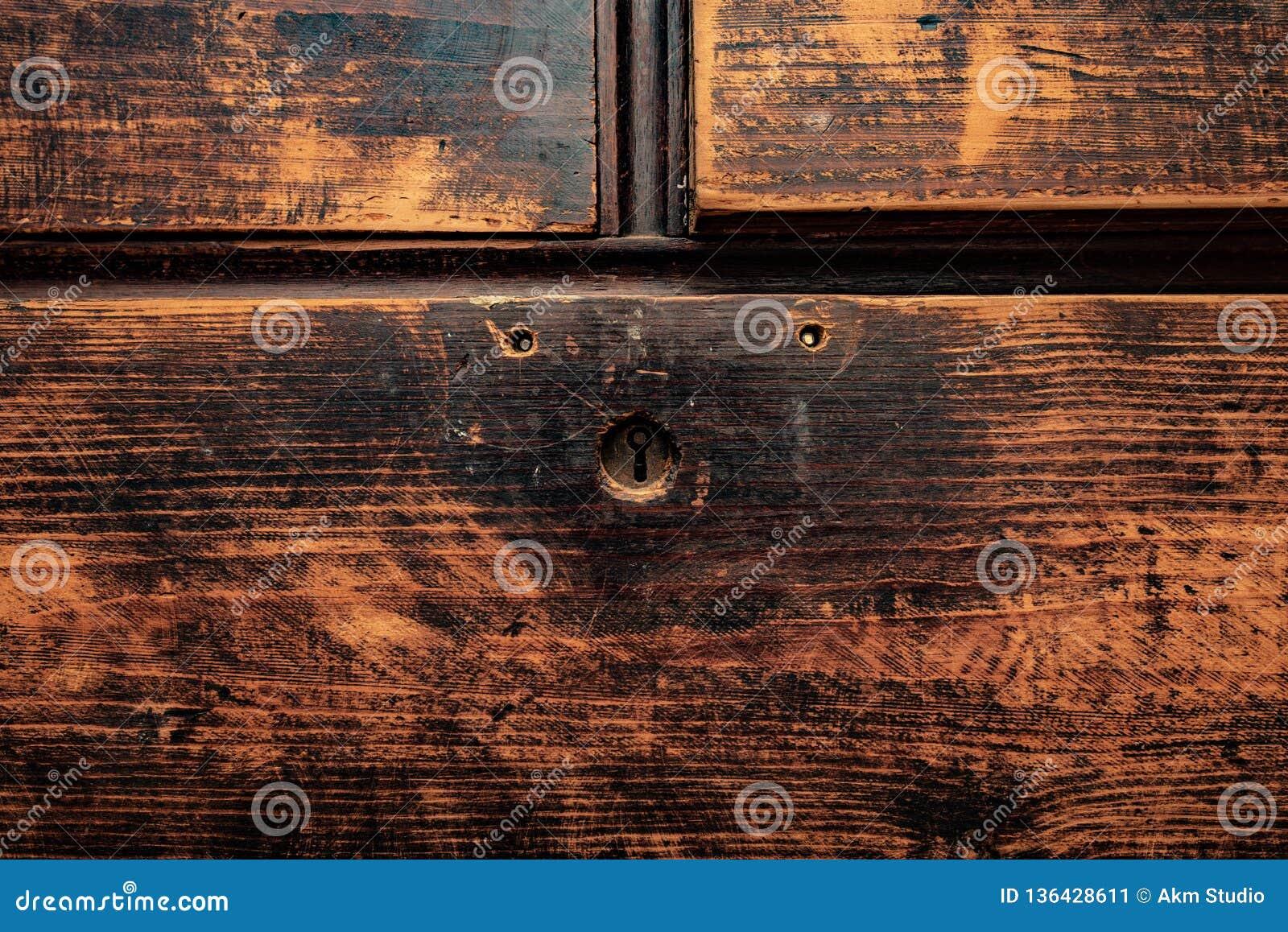 Vieux Panneau Vieux Meubles Restauration Image Stock